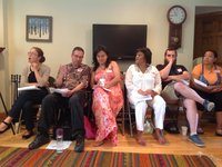 New Lynn Coalition stategy session participants, with Spanish interpreter